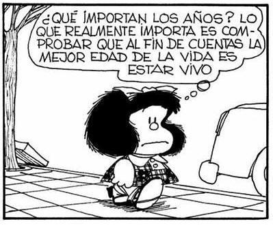 Mafalda mas alla de Mafalda